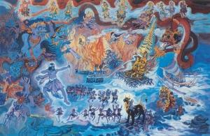 Balinese 'Dancing' Jesus