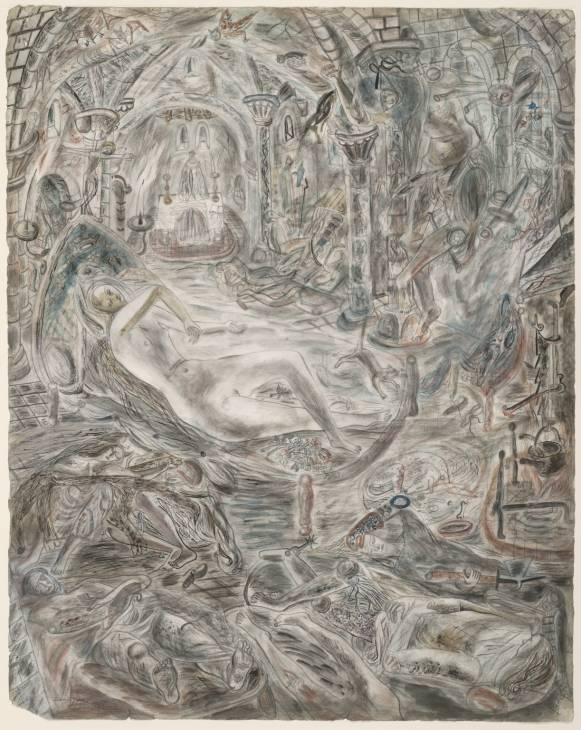 Illustration to the Arthurian Legend: Guenever 1938-40 David Jones 1895-1974 Purchased 1941 http://www.tate.org.uk/art/work/N05315