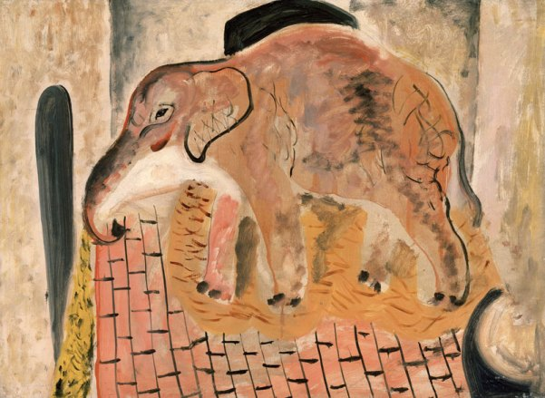 David-Jones-Elephant-1928-National-Museum-of-Wales