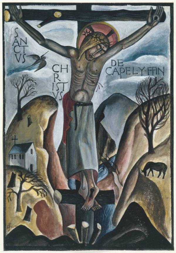 Sanctus Christus de Capel-y-ffin 1925 David Jones 1895-1974 Presented by the Friends of the Tate Gallery 1983 http://www.tate.org.uk/art/work/T03677