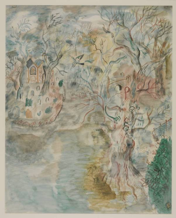 The Chapel in the Park 1932 David Jones 1895-1974 Purchased 1940 http://www.tate.org.uk/art/work/N05054