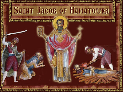 St. Jacob of Hamatoura - Martyrdom copy