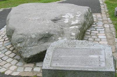 st patrick's grave