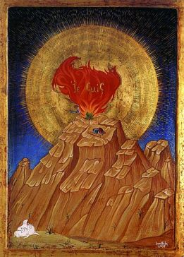 The Burning Bush « ORTHODOX CHRISTIAN FAITH AND LIFE