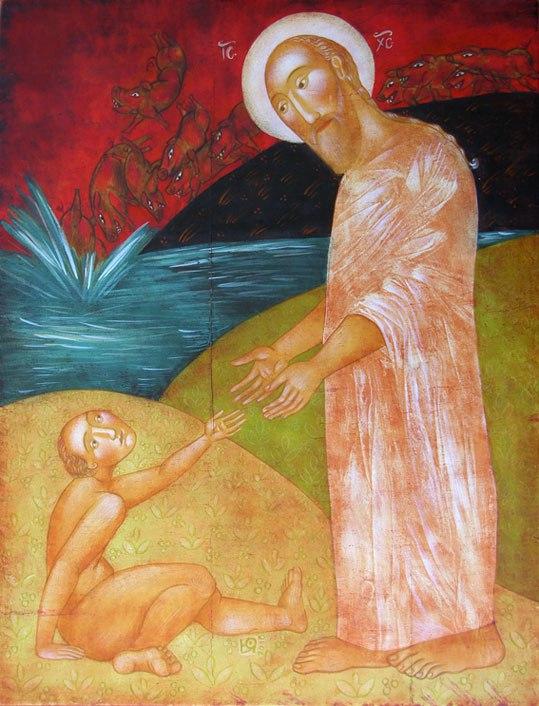 Byzantine Iconography vs. Western-Eastern Religious Art