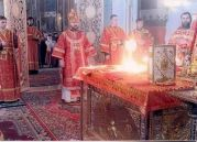 Chalice, Christian Orthodox Divine Liturgy and the Uncreated Light