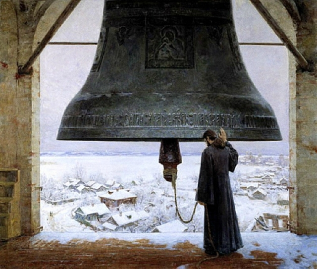 Image result for orthodox monks winter