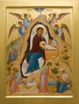 Γέννηση του Ιησού Χριστού_ Рождество Христово_ Nativity of Christ-icone17af3c43e89991487750a4d5