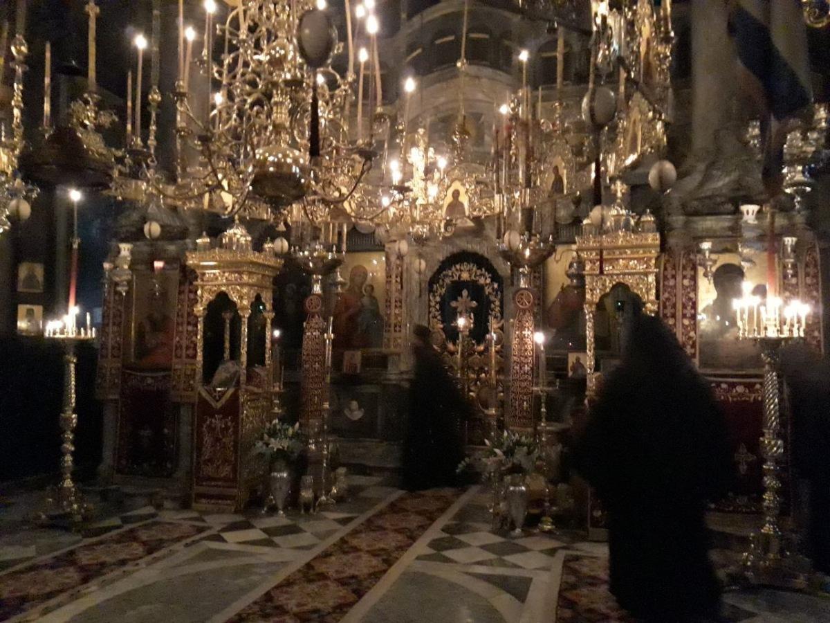 Theophany Vigil at Mount Athos Monastery Agiou Pavlou