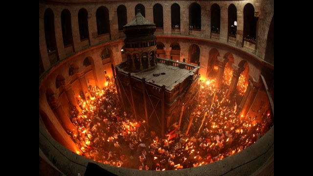 holy sepulchre holy fire