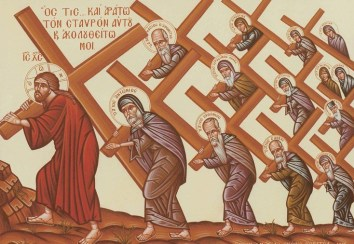 FOLLOW CHRIST ICON